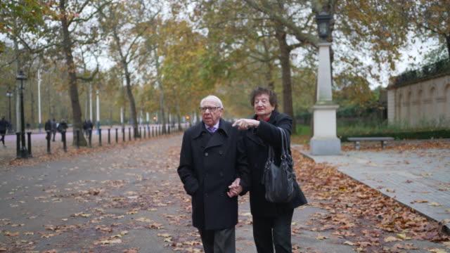 a seniors couple - true love angielski zwrot filmów i materiałów b-roll