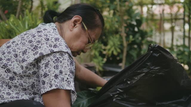 Seniors Gardening At Home video