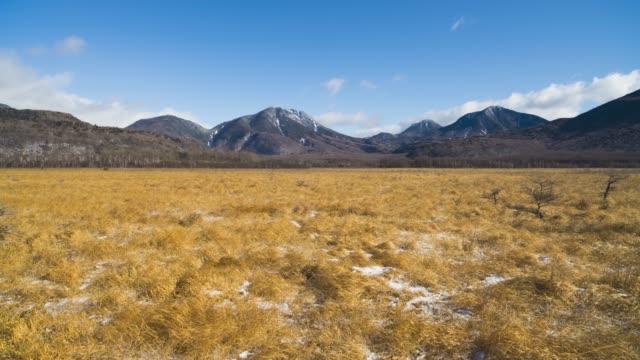 初冬の千城ヶ原と南台山(タイムラプス) ビデオ