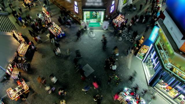 vídeos de stock, filmes e b-roll de zoom cidade de seul - coreia