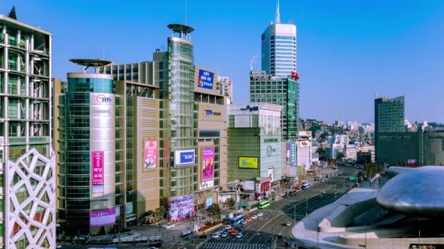 Seoul of South Korea. Beautiful city timelapse. video