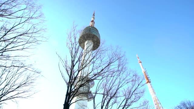 vídeos y material grabado en eventos de stock de torre de seúl - n seoul tower
