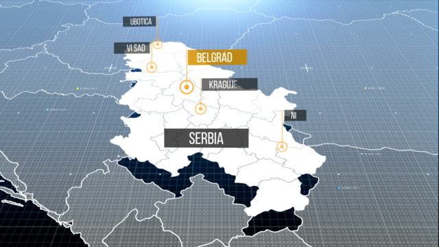 serbian map with label then with out label serbian map with label then with out label serbia stock videos & royalty-free footage