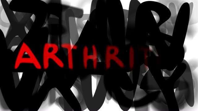 ARTHRITIS : series 'assemble your message' (LOOP) video