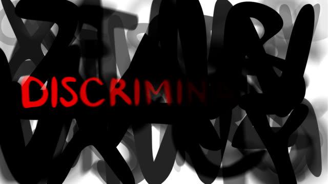 """discrimination : series """"assemble your message"""" (loop) - etnicitet bildbanksvideor och videomaterial från bakom kulisserna"""