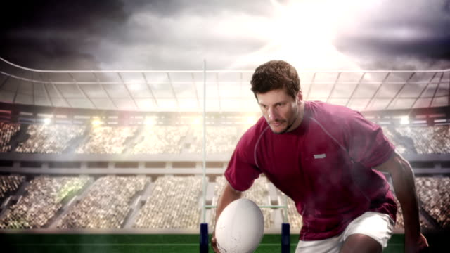 ラグビー選手な評価をお試しください。 ビデオ