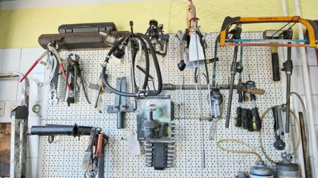 set of hand tools - narzędzie do pracy filmów i materiałów b-roll