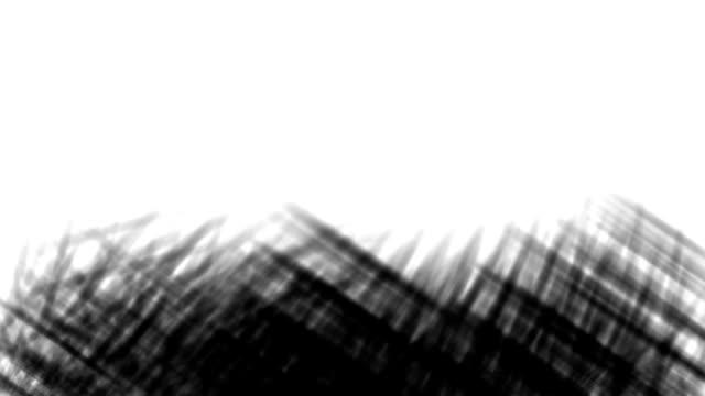 set med tre olika streckade linjer bläck stil matt övergångar, gräs form. du kan använda dem som luma matt, övergångar mellan video i overlay-läge. rörelse utseende: sidan, upp, från centrum. - blyertspenna bildbanksvideor och videomaterial från bakom kulisserna