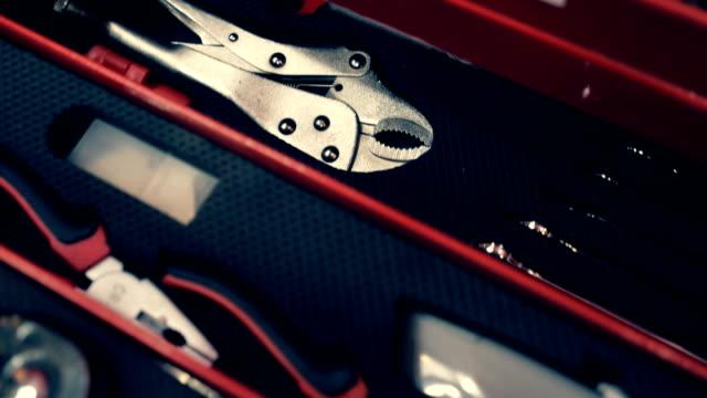 zestaw narzędzi do napraw - klucz ręczne narzędzie filmów i materiałów b-roll