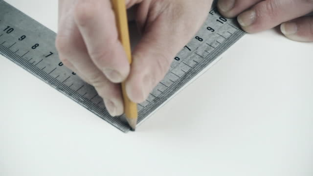 Set Square and Pencil video