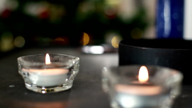 Setting Up Candles video