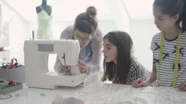 Sewing Class For Children. video