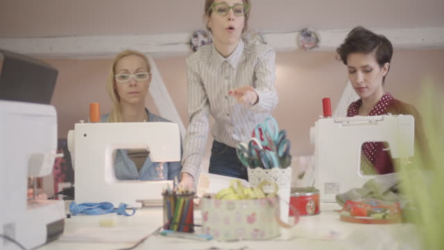 4K: Sewing Class video