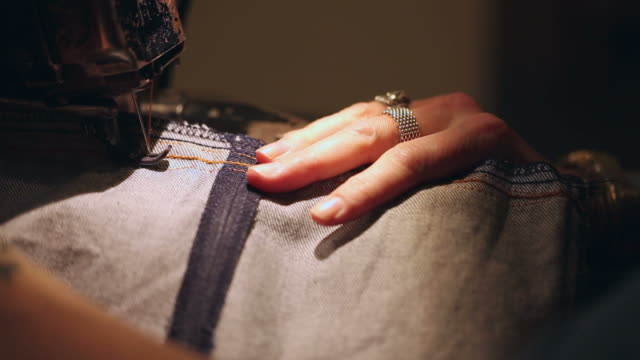 Sewing Jeans video