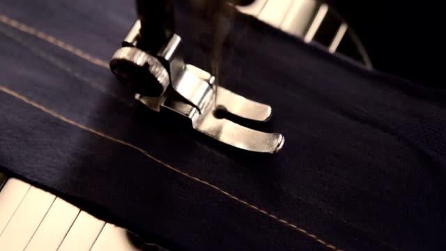 Sewing machine detail video