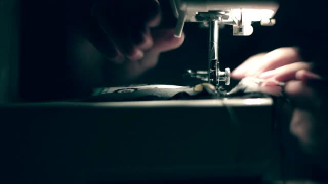Sewing machine, hands, handmade video