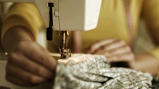 Sewing machine video