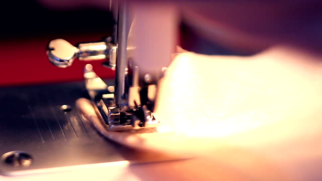 Sewing machine working video