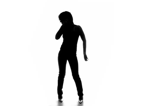Sexy dancing silhouette 5 video