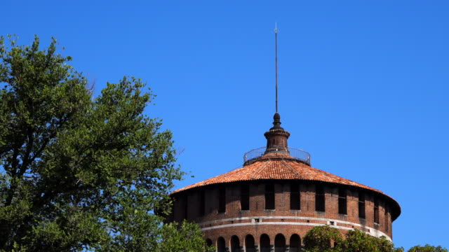 Sforza Watch Tower in Milan