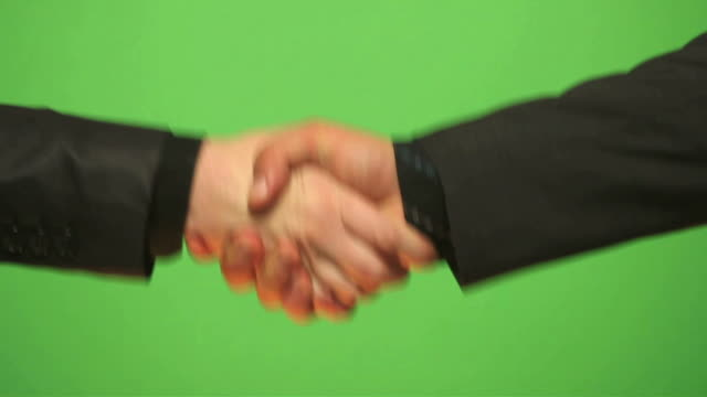 HD: Shaking hands video