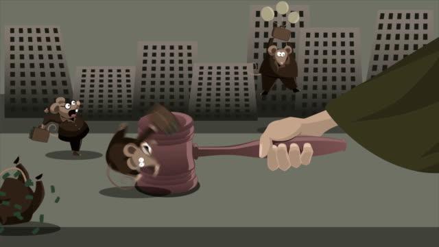 shaking the corrupters - dirty money bildbanksvideor och videomaterial från bakom kulisserna