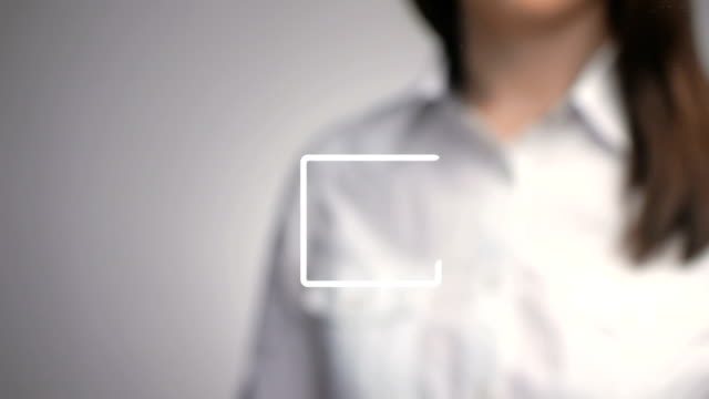 shallow depth of field business symbol concept approval video
