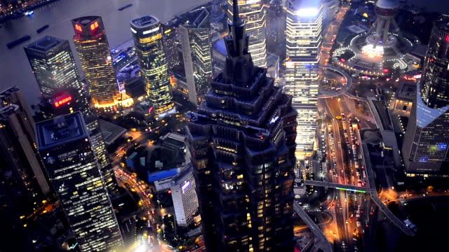 shanghai på natten, tid förflutit - berlin city bildbanksvideor och videomaterial från bakom kulisserna