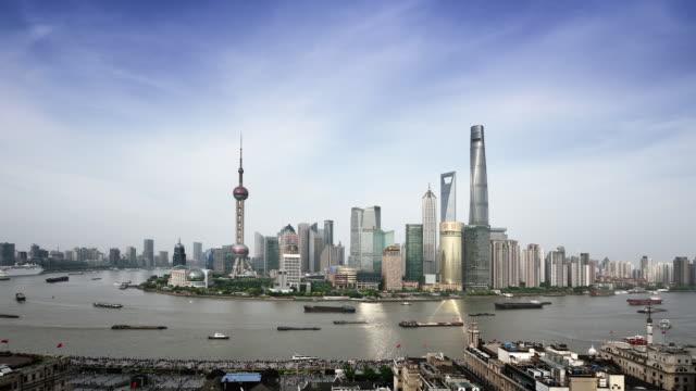 Shanghai Skyline video