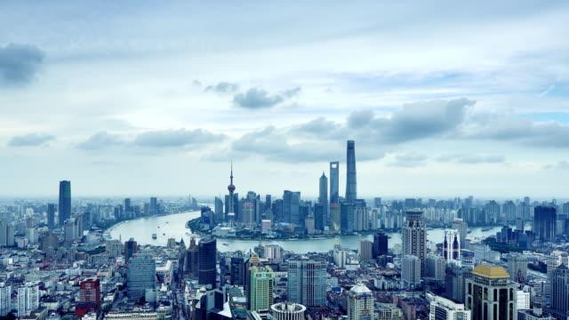 Shanghai Skyline (Time-lapse) video