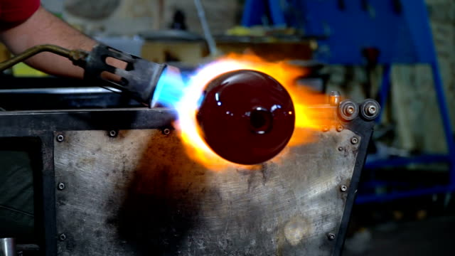 Shaping Glass with Fire