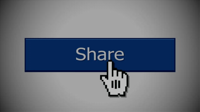 A 'share' social media button animation with optional luma matte. video