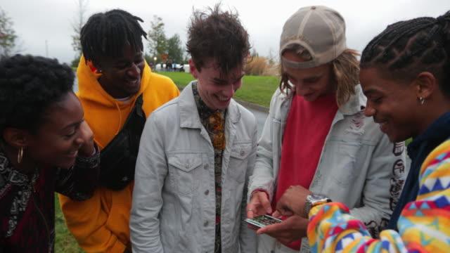 Sharing Socials in the park