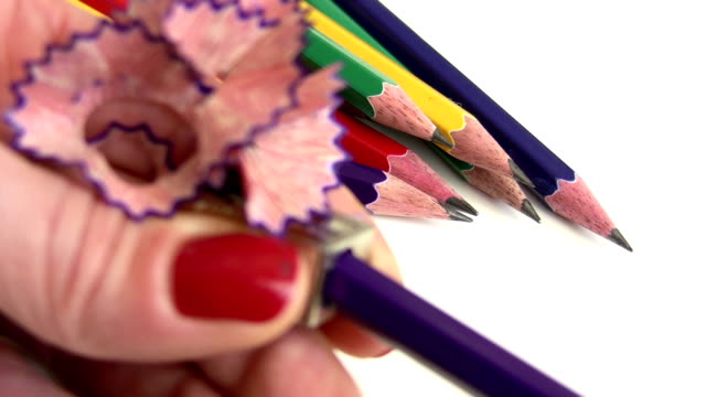 Sharpening a Pencil video
