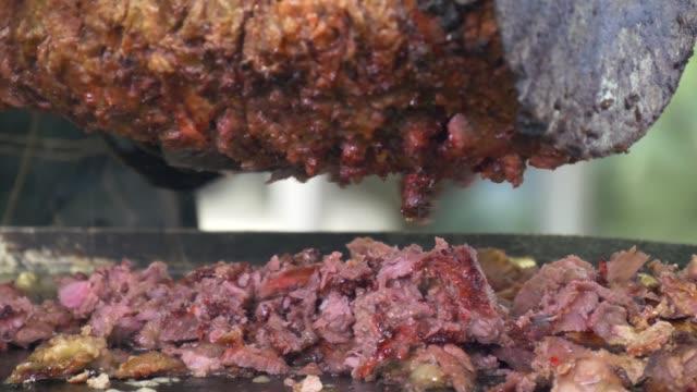 Shaurma, Turkish doner-kebab. Fast street food