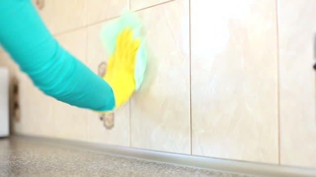 she cleans the kitchen young girl cleans the kitchen dishwashing liquid stock videos & royalty-free footage