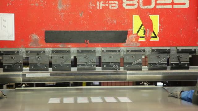 Sheet metal bending video