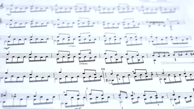 Sheet Music Background Musical Notes video
