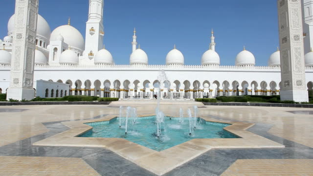 Sheikh Zayed Mosque in Abu Dhabi video