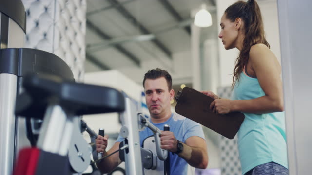 She'll help him to get in shape video