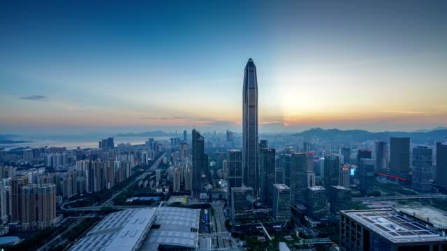 深圳市街 - 広東省点の映像素材/bロール