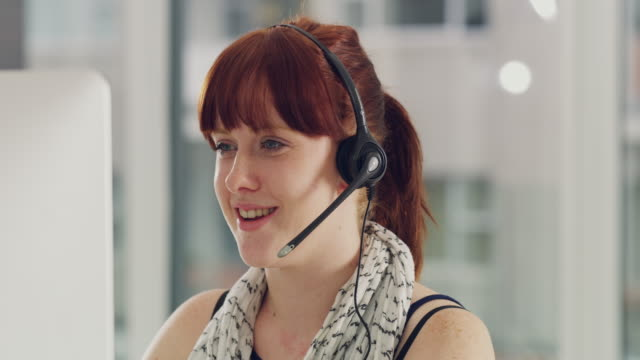 she's got exceptional communication skills - call center stock videos and b-roll footage