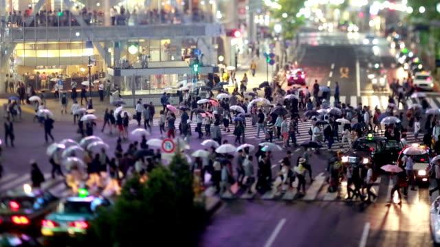 Shibuya Crasswalk traffic video