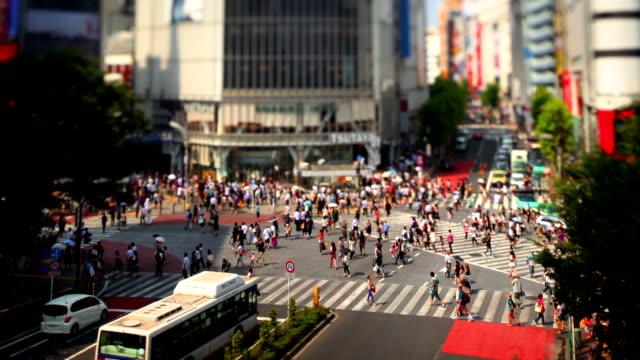 Shibuya Crossing in Tokyo Japan video
