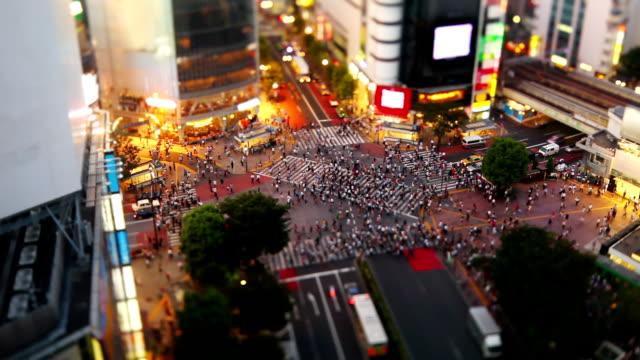 Shibuya Crossing in Tokyo (Fast) video