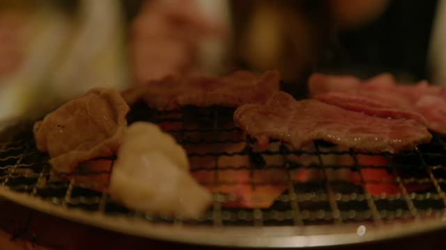 Shichirin gegrillt. – Video