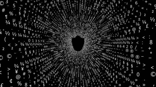 シールドロックセキュリティデータ - ウイルス対策ソフト点の映像素材/bロール