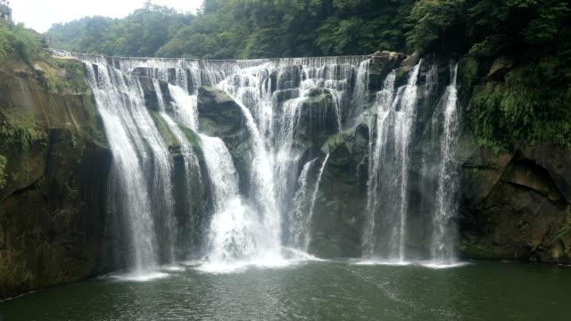 Shifen waterfall at Taipei Taiwan