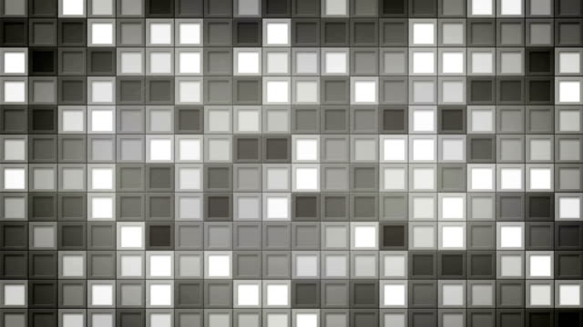 shimmering gray squares loopable background video