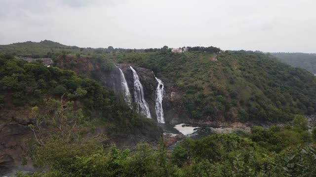 Shimsha waterfall at Shivanasamudra in Karnataka/India.